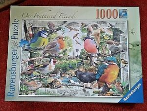 Ravensburger OUR FEATHERED FIENDS 1000 Jigsaw Puzzle - Brand New & Sealed.