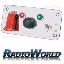 12 V pannello di interruttore di accensione a pulsante BATTERIA ISOLANTE Start AUTO RALLY PISTA 25 A