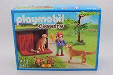 Playmobil Country 6134 Golden Retriever Con Cachorros nuevo emb. orig.