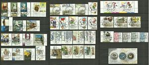 ISRAEL 2003 COMPLETE YEAR SET STAMPS FULL TABS & SHEETS FIRST DAY CANCELLATIONS