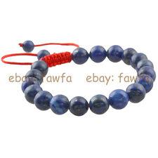 New Natural 10MM Lapis Lazuli Gem Tibet Buddhist Prayer Beads Mala Bracelet