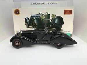 "CMC M-225 1934 MERCEDES BENZ SSK TROSSI ""BLACK PRINCE"" 1:18"