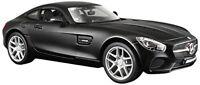 Maisto 1:24 Mercedes AMG Benz GT Diecast Model Racing Car Vehicle Black IN BOX