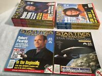 22 ISSUES OF STAR TREK-THE MAGAZINE STARTING JUNE 2001 INCL. SPECIAL ISSUES