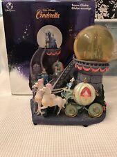 "Disney ""Cinderella Staircase"" Snowglobe Musical & Light Up - With Original Box"