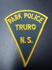 VINTAGE RARE PARK POLICE TRURO, NOVA SCOTIA CANADA SHOULDER PATCH