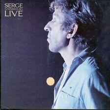 """SERGE GAINSBOURG LIVE"" Cartoline promo originale 1986 31x31cm"