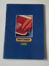 Matchbox-  Matchboxkatalog 1988 englische  Ausgabe