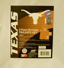 TEXAS LONGHORNS 3 Piece Kitchen Tailgate Set