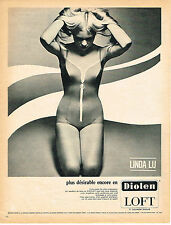 PUBLICITE  1966    DIOLEN LOFT  maillot de bain LINDA LU