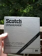 Reel to Reel Tape Scotch Dynarange Reel to Reel Tape 2400 ft
