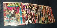 punisher 39 issue comics lot war journal zone run set movie collection max dvd