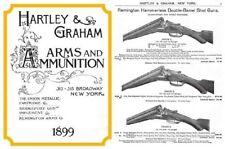 Hartley & Graham 1899 Gun Catalog (New York)