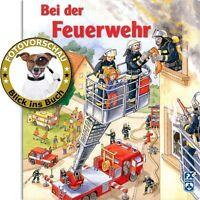 Bei der Feuerwehr! Hochwasser, Verkehrsunfall uvm. (Pappbilderbuch, Wimmelbuch)