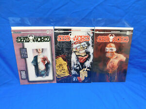 Deadworld #22 23 24 Lot  B Variant cover - Caliber Press 1991 VF+