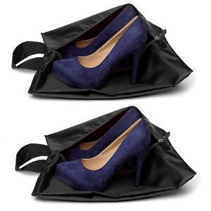 Travel Shoes Organizer Bags [Set of 2] [Dust-proof] Shoe Bag Shoe Storage