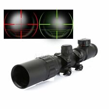 Hunting Sniper 2-6X32AOEG Red Green Mil-dot Illuminated Reflex Rifle Scope Sight