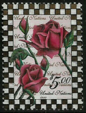 United Nations #753 Mnh Stamp - Roses - Flowers