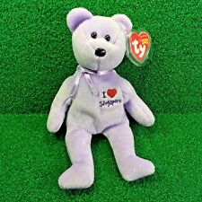"NEW Ty Beanie Baby Singapore The Bear ""I <3 Bears"" 2005 Retired  - FREE SHIPPING"