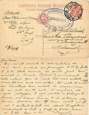 1689 - Regno - Posta militare 65 + 5° reggimento Alpini (Morbegno), 07/09/1918