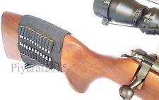 24 Rounds .22 Ruger 10/22 Elastic Buttstock Rifle Shell Holder Stock Ammo Best