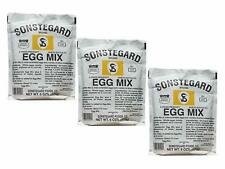 3 PACK - Powdered Eggs Dried Egg Mix for Scrambled Eggs, Baking, Camping 6 oz