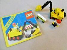 VINTAGE LEGO-senza confezione LEGOLAND SET # 6631 vapore Pala Mini Escavatrice - 1985-1989