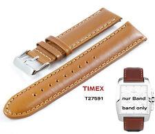 Timex repuesto Pulsera t27591 chronograph Indiglo - 20mm universal LW cuero