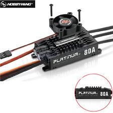 Hobbywing Platinum Pro V4 80A 3-6S Lipo BEC Brushless ESC