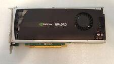 38XNM DELL NVIDIA Quadro 4000 2GB GDDR5 256-bit PCI-E 2.0 x16 Video Card TESTED