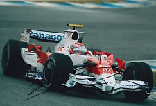 Kamui Kobayashi Hand Signed 12x8 Photo F1 Panasonic Toyota 1.