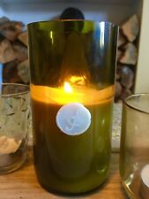 Wine Bottle Candle - Spiced Orange 'Recycled' 'Wedding Centrepiece' Soy Wax