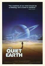 THE QUIET EARTH Movie POSTER 27x40 Bruno Lawrence Alison Routledge Peter Smith