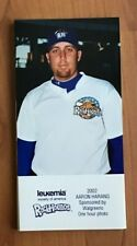 2002 MIDLAND ROCKHOUNDS ONE HOUR PHOTO TEAM SET AARON HARANG- TOUGH