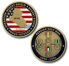NEW  Persian Gulf War / Desert Storm Veteran Challenge Coin