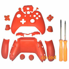Xbox One Replacement Wireless Controller Matte Orange Case Shell for 3.5mm Port