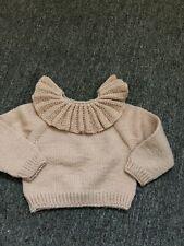 Kalinka Salmon Sweater Size 12/18m