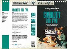 CHARLOTTE FOR EVER (1986) vhs ex noleggio
