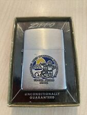 Zippo Lighter Vintage Canada's Most Northern Community Zippo Grise Fiord N.W.T.