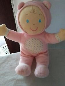 pink baby dolly soft toy mothercsre