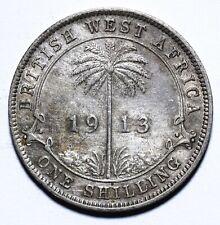 1913 British West Africa One 1 Shilling - George V - Lot 1374