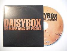DAISYBOX : LES MAINS DANS LES POCHES [ CD SINGLE PORT GRATUIT ]
