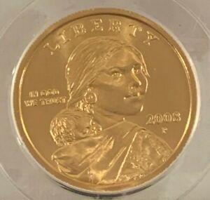 2008 PCGS SP68 Native American Dollar 19027881 Satin Finish