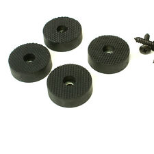 4 Quality Rubber Feet for Guitar Amps Speaker Cabinets etc, Large dim 35mm
