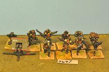 Guardia Imperial Cadian 10 & Arma De Metal Pesado (9497)