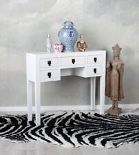 Console Table Cottage White Wall Side Sideboard Flurtisch