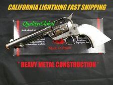 NEW MIRROR 1870 PEACEMAKER COLT 45 REVOLVER MOVIE PROP REPLICA GUN DUKE RANAGER