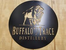 Buffalo Trace Bourbon Metal Wall Art Plasma Cut Home Decor Gift Idea