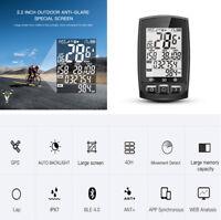 IGS50E Bike GPS Cycling Computer Odometer Speedometer Waterproof ANT+Bluetooth