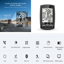 IGS50E Bike GPS Cycling Computer Odometer Speedometer Waterproof ANT+Bluetooth